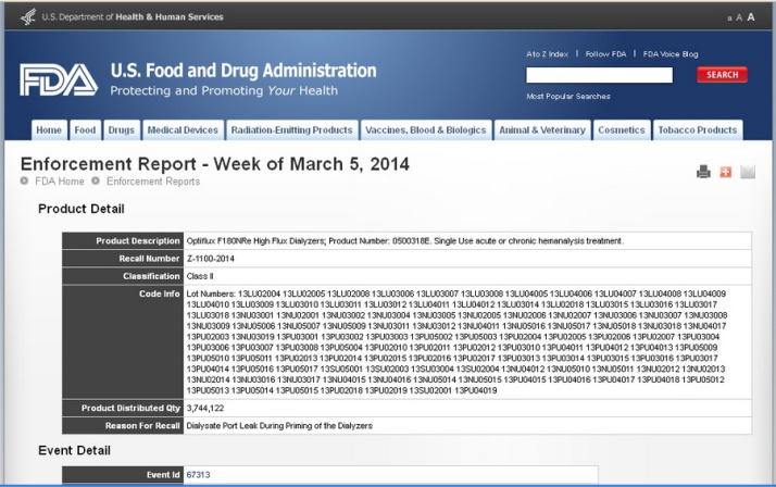 FDA to FMC